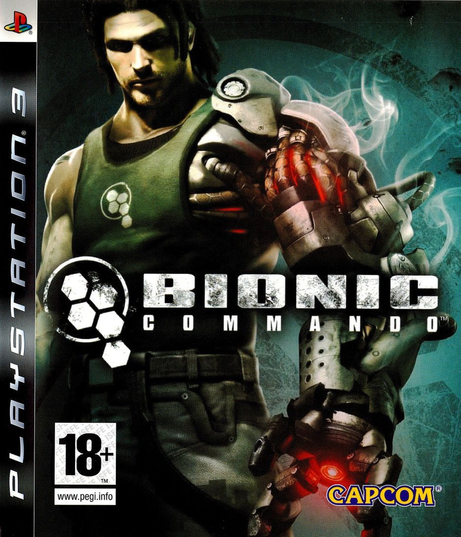 Bionic Commando PS3 coverHQ (BLES00465)