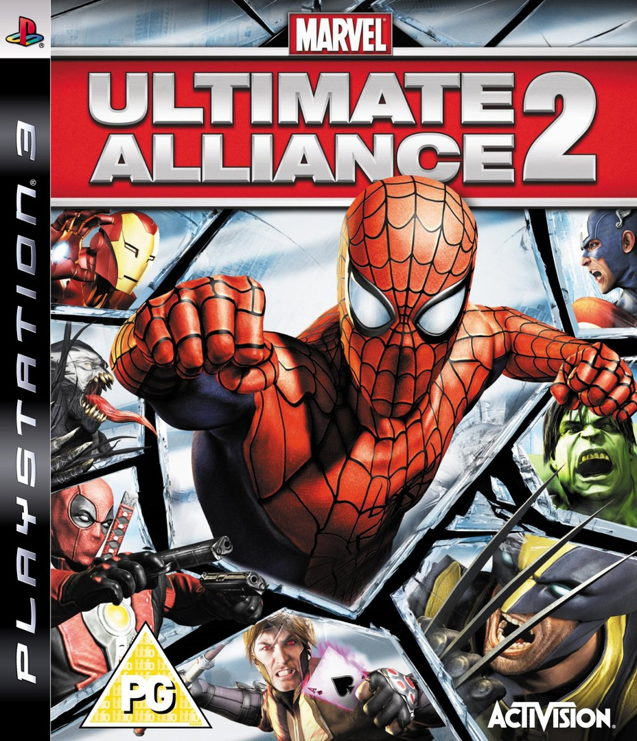 Marvel: Ultimate Alliance 2 PS3 coverHQ (BLES00546)