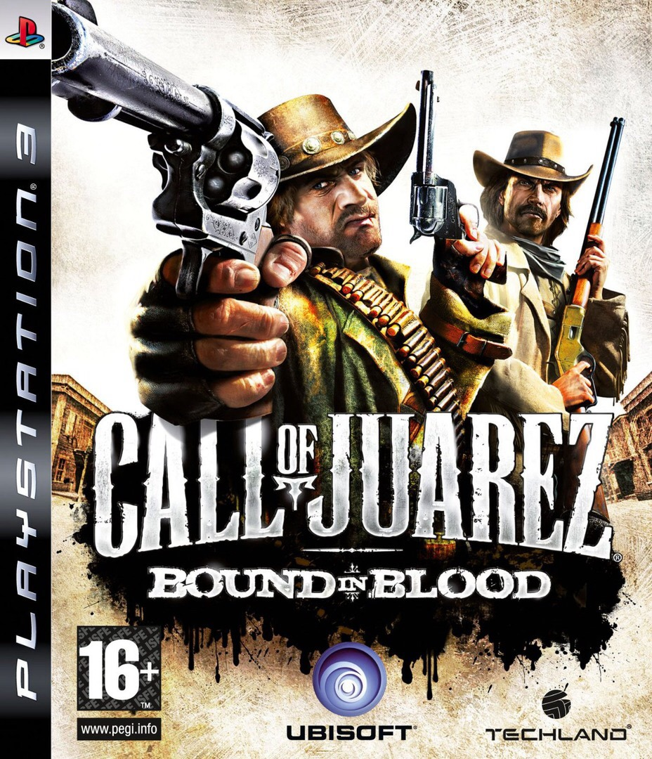 Call of Juarez: Bound in Blood PS3 coverHQ (BLES00556)