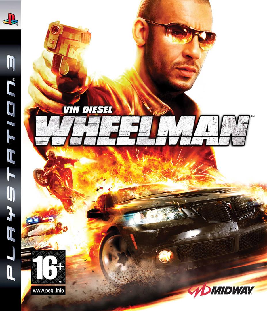 Vin Diesel Wheelman PS3 coverHQ (BLES00557)