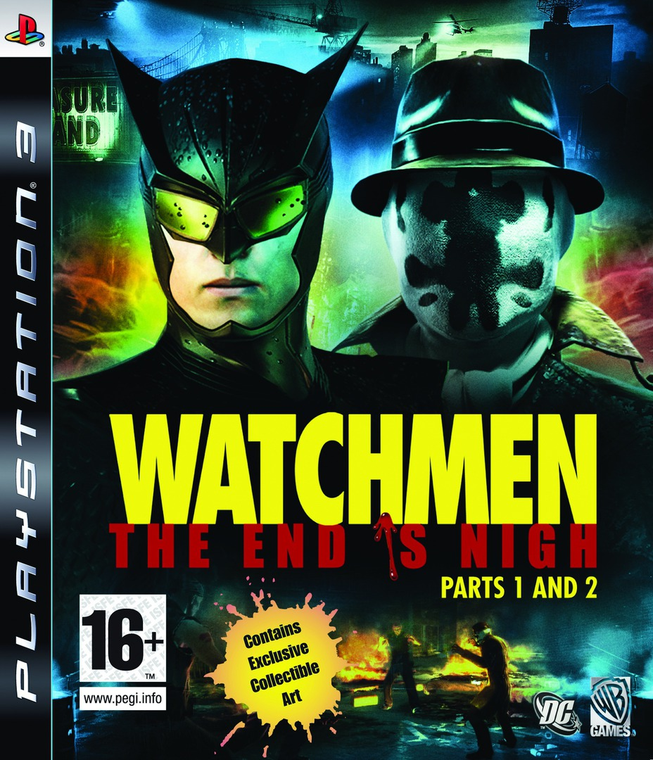 Watchmen: The End is Nigh - Part 1&2 PS3 coverHQ (BLES00605)