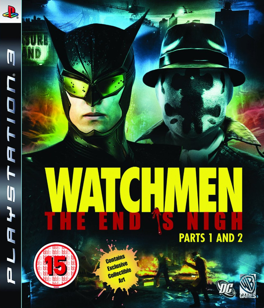 Watchmen: The End is Nigh - Part 1&2 PS3 coverHQ (BLES00613)