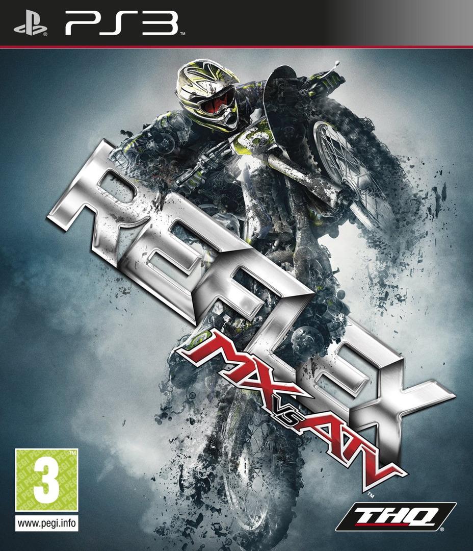 MX vs. ATV Reflex PS3 coverHQ (BLES00662)