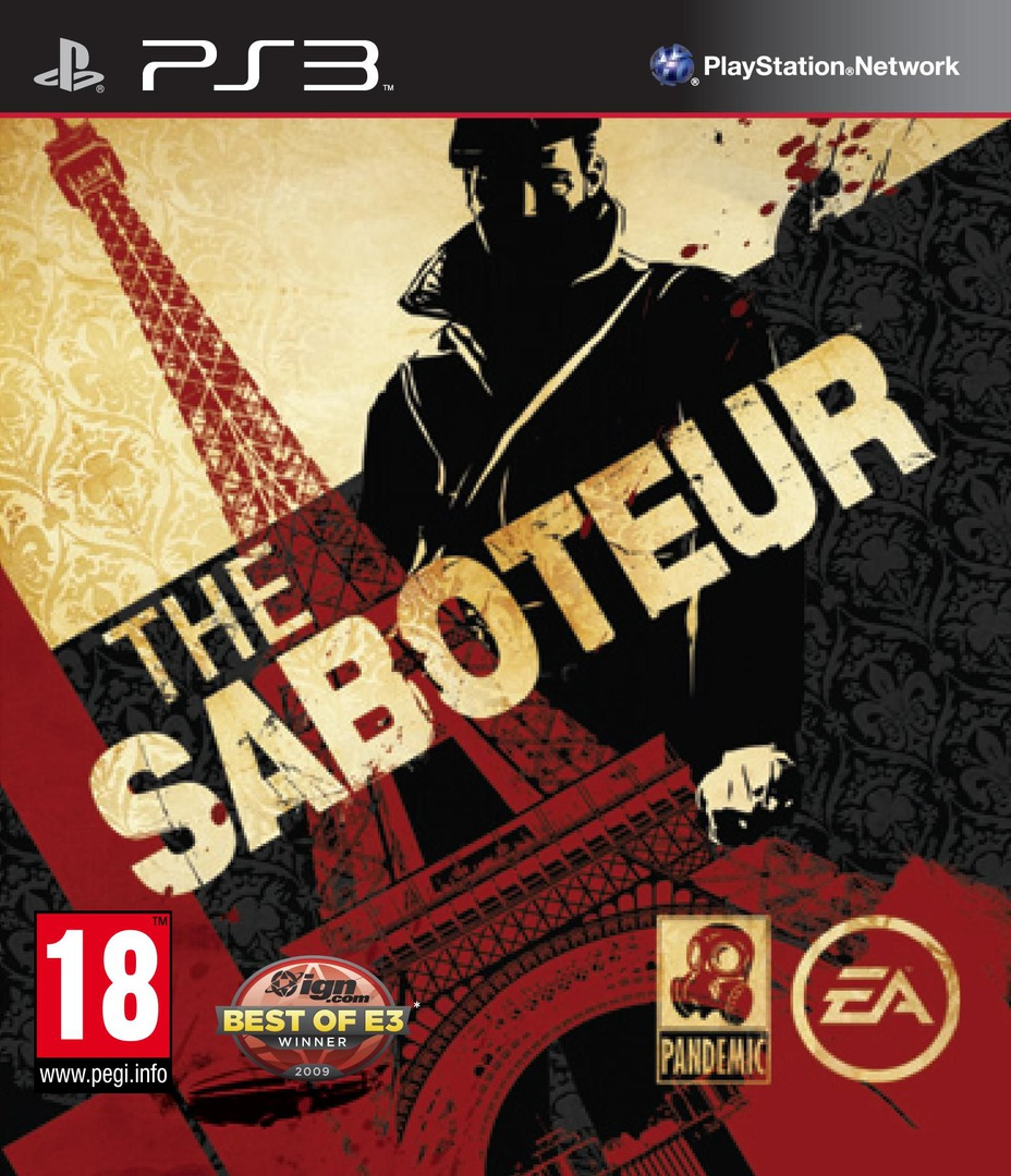 The Saboteur PS3 coverHQ (BLES00743)