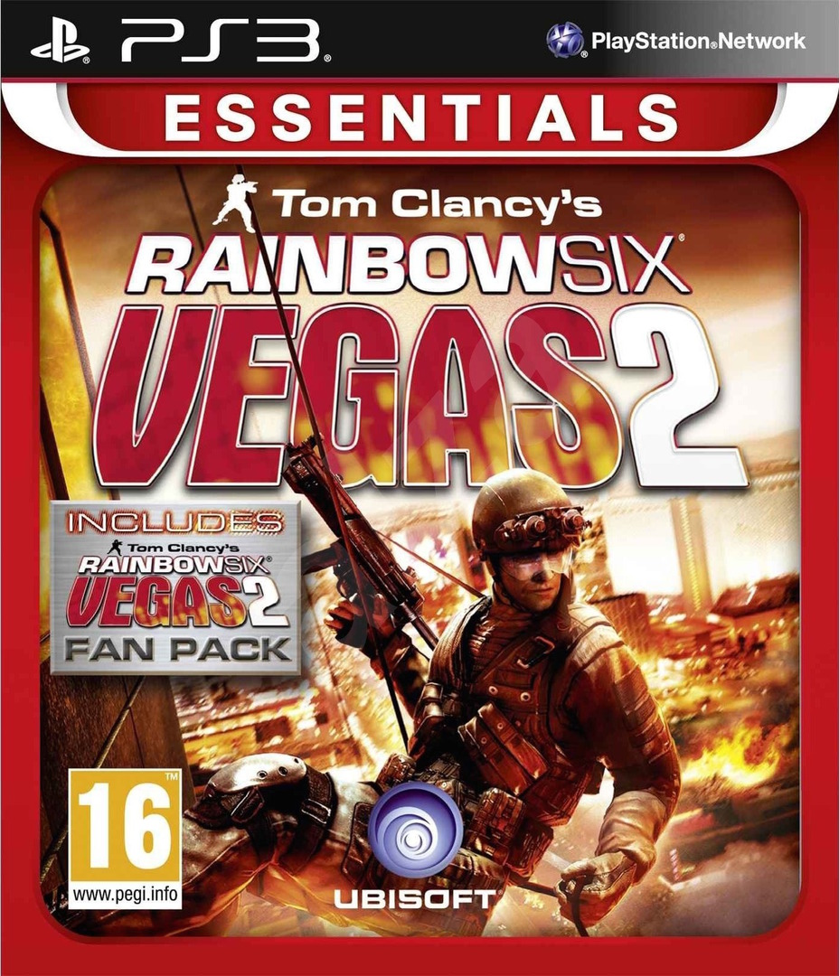 Tom Clancy's Rainbow Six Vegas 2 (Complete Edition) PS3 coverHQ (BLES00755)