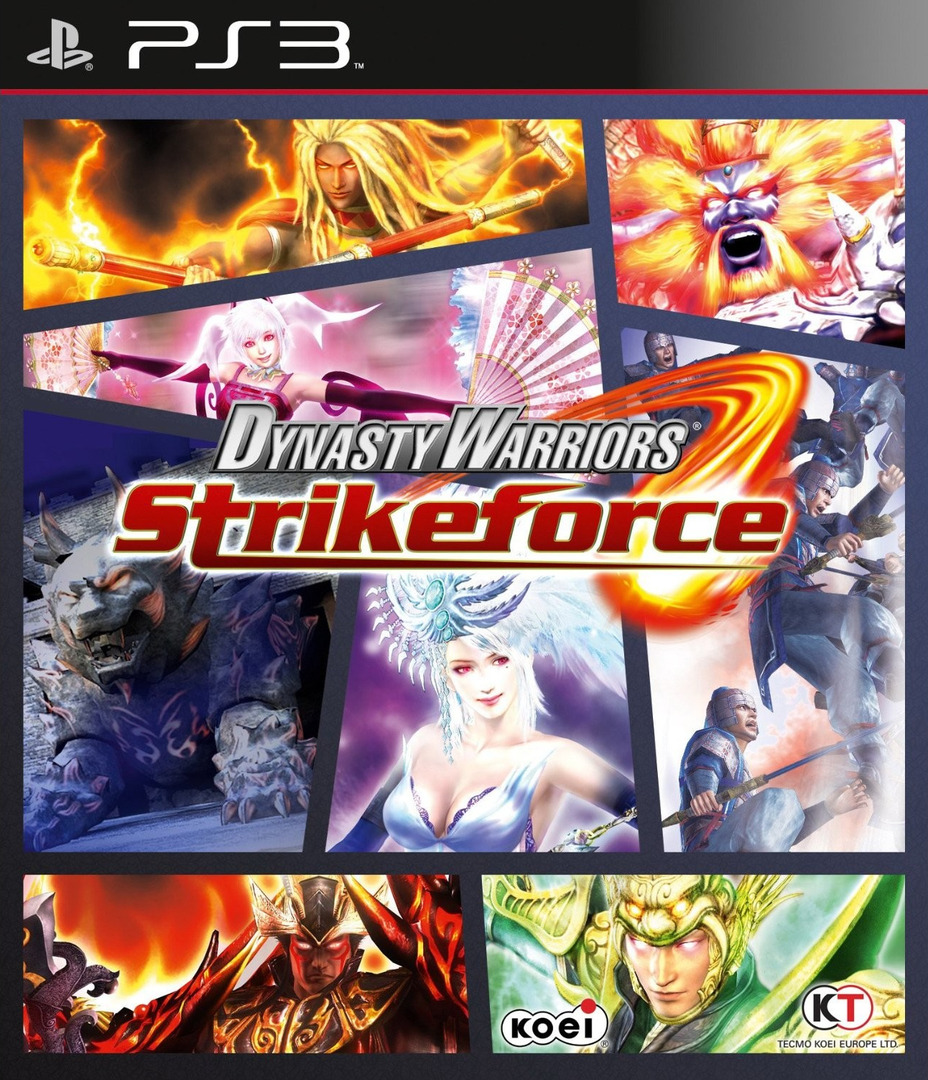 Dynasty Warriors: Strikeforce PS3 coverHQ (BLES00825)