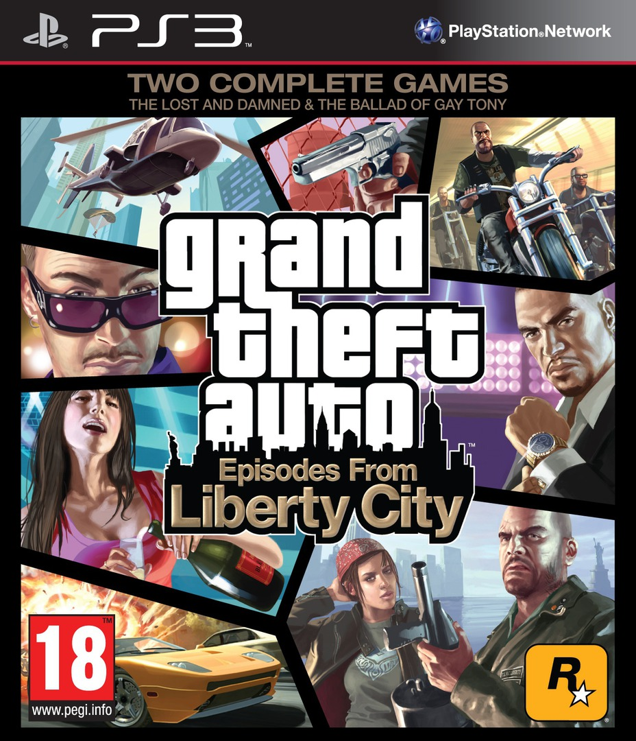 Grand Theft Auto: Episodes from Liberty City PS3 coverHQ (BLES00887)