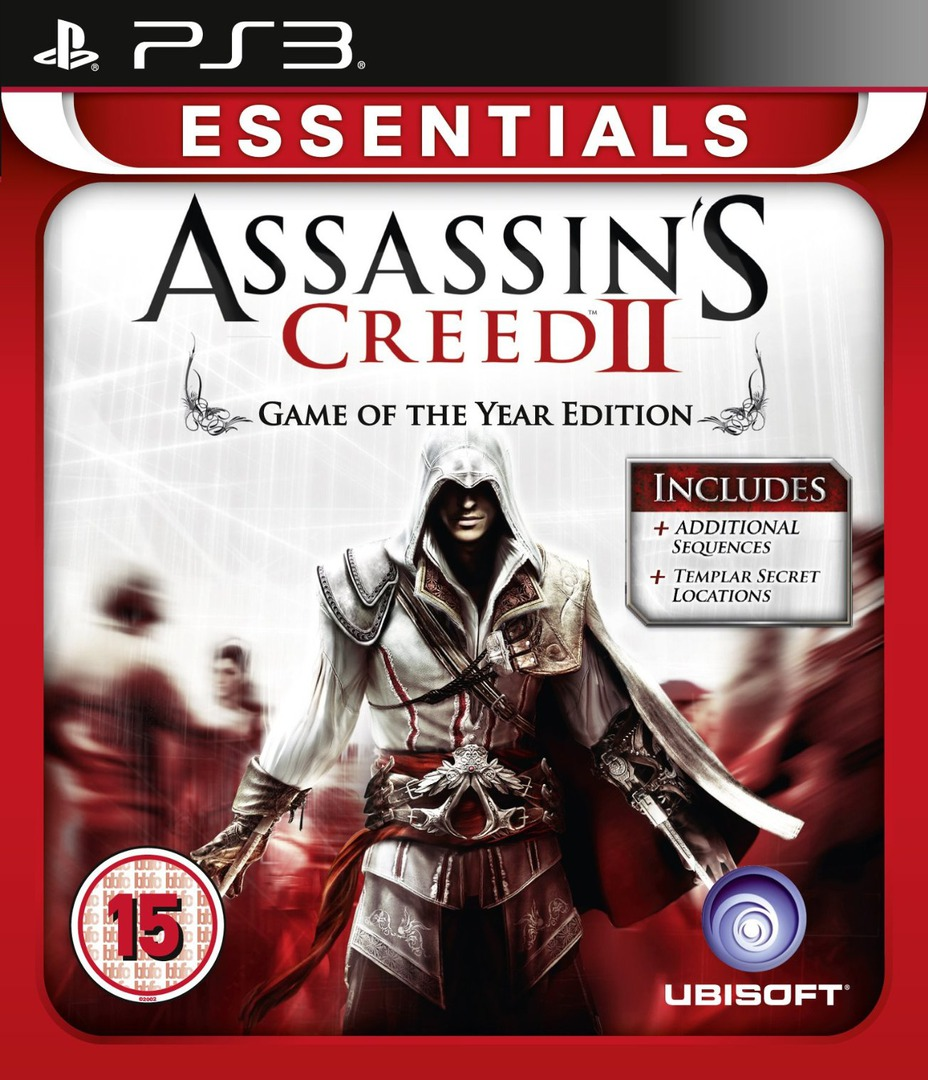 Assassin's Creed II - Game of The Year Edition PS3 coverHQ (BLES00899)