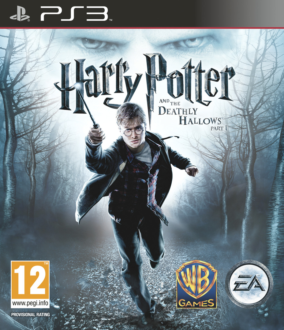 Harry Potter and the Deathly Hallows - Part 1 PS3 coverHQ (BLES00931)