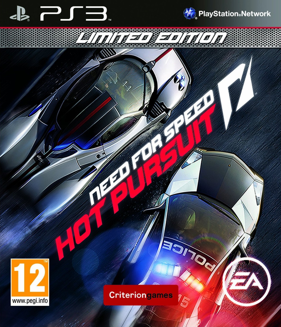 Need for Speed: Hot Pursuit (Limited Edition) PS3 coverHQ (BLES00950)