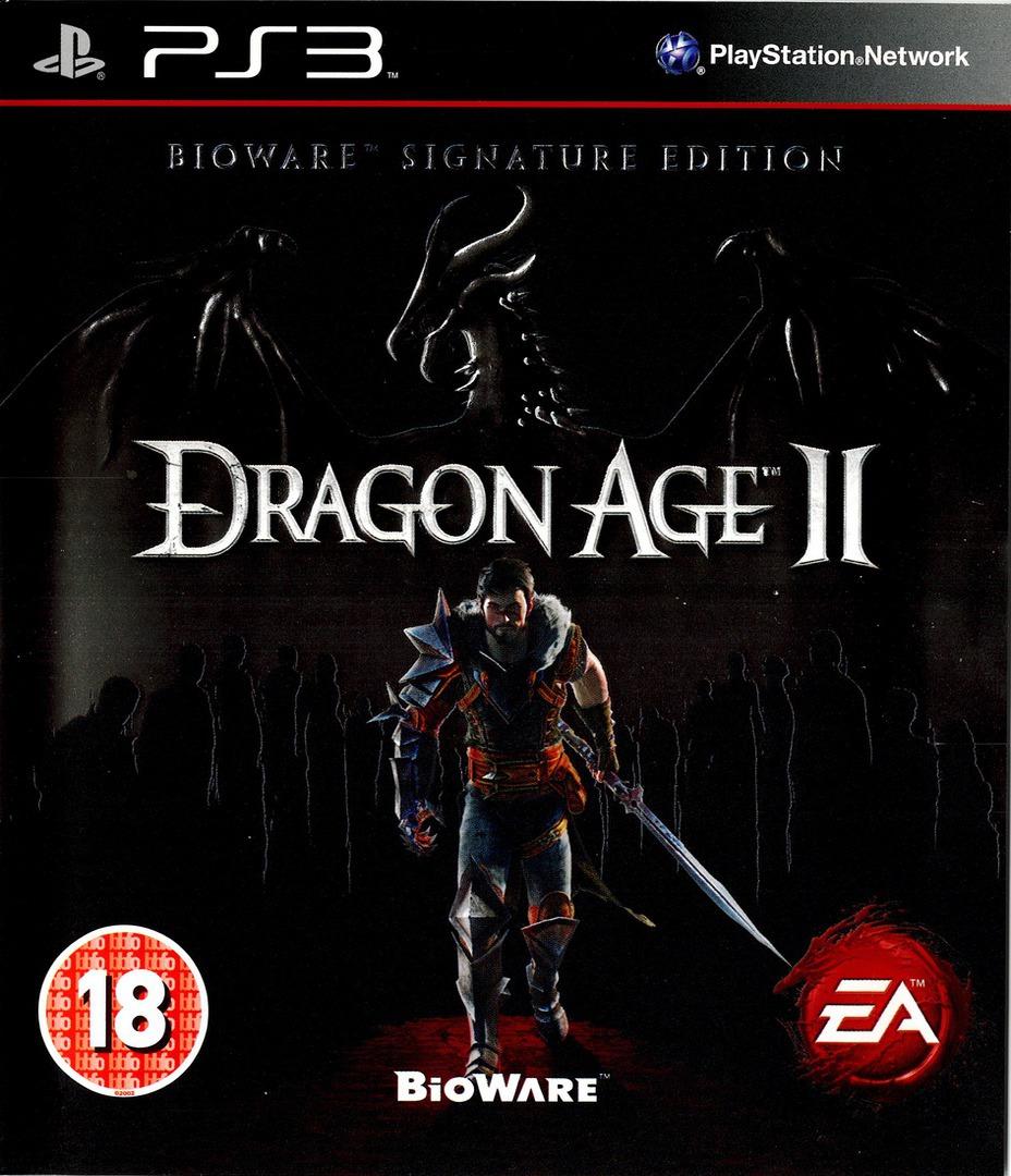 Dragon Age II (Bioware Signature Edition) PS3 coverHQ (BLES01084)
