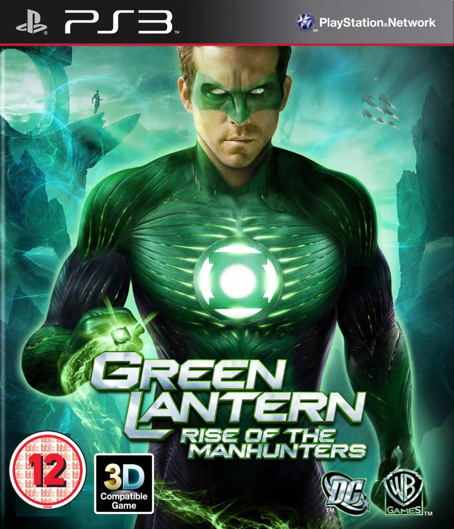 Green Lantern: Rise of the Manhunters PS3 coverHQ (BLES01116)
