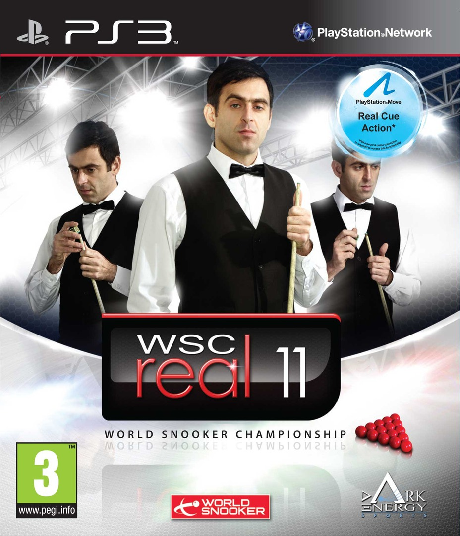 WSC Real 11: World Snooker Championship PS3 coverHQ (BLES01148)