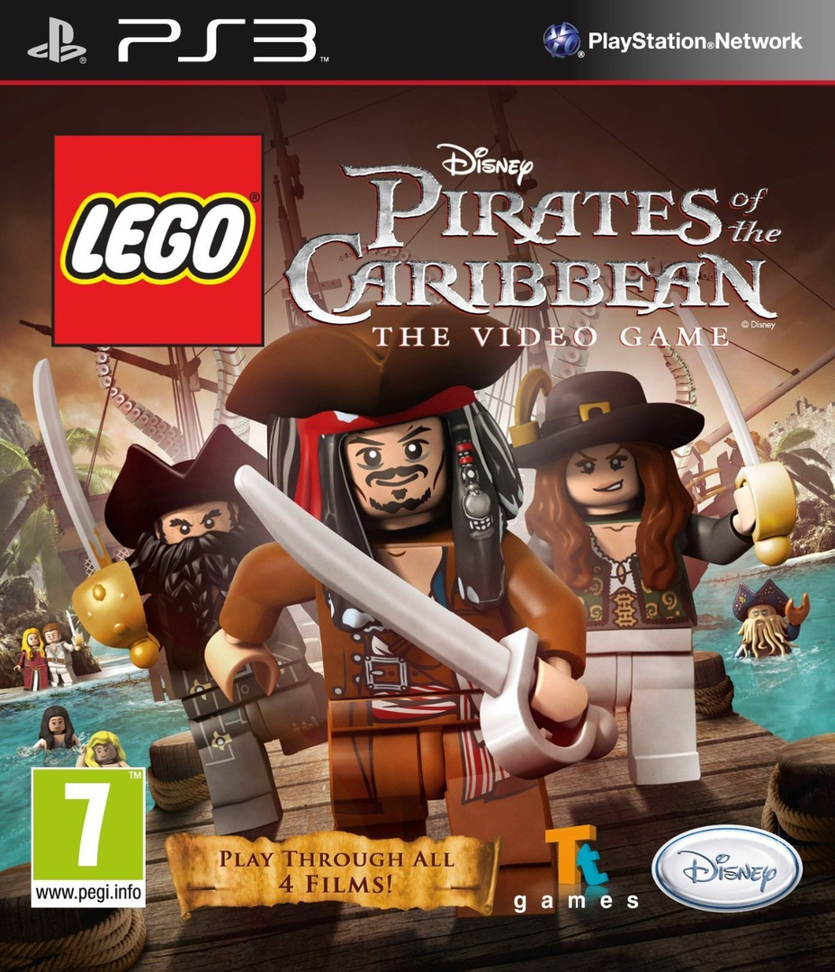 Pirates of the Caribbean: The Video Game PS3 coverHQ (BLES01239)