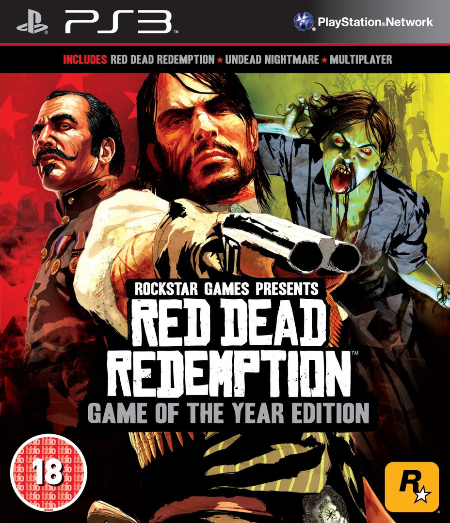 Red Dead Redemption: Game of the Year Edition PS3 coverHQ (BLES01294)