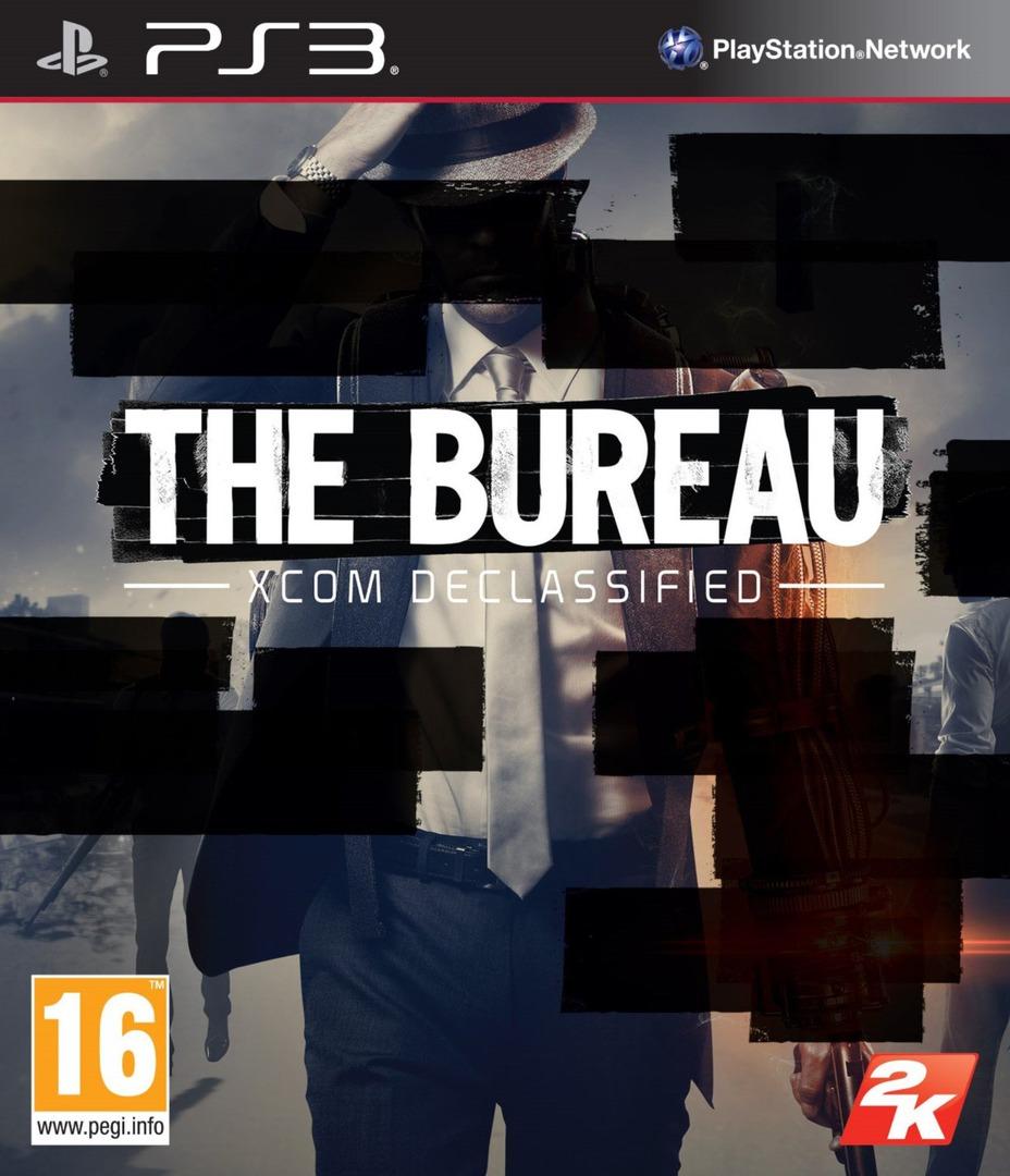 The Bureau: XCOM Declassified PS3 coverHQ (BLES01322)