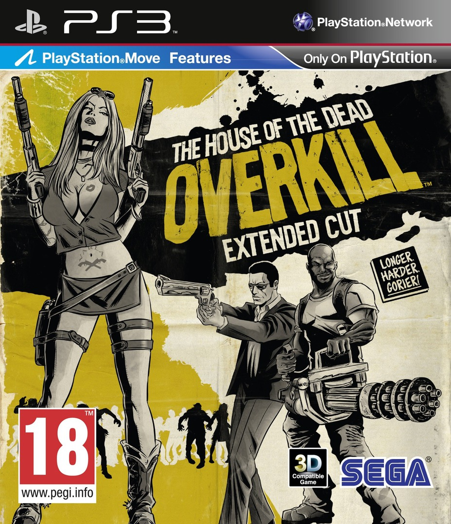 The House of the Dead: Overkill Extended Cut PS3 coverHQ (BLES01326)