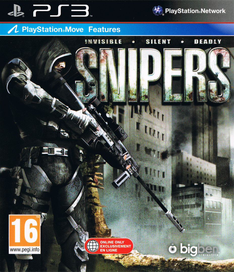 Snipers - Invisible, Silent, Deadly PS3 coverHQ (BLES01327)