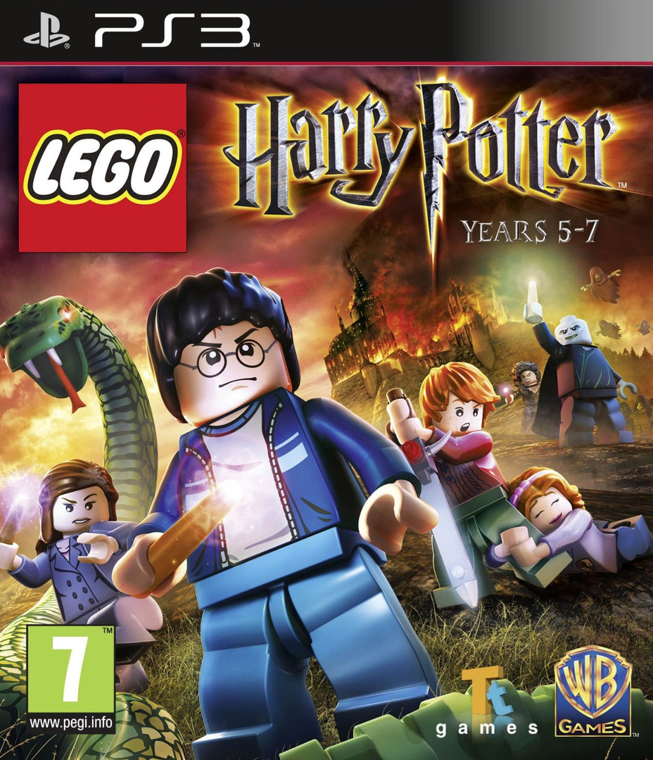 LEGO Harry Potter: Years 5-7 PS3 coverHQ (BLES01348)