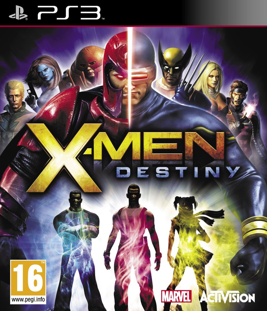 X-Men: Destiny PS3 coverHQ (BLES01351)