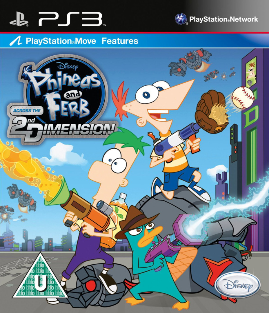 Phineas and Ferb: Across the 2nd Dimension PS3 coverHQ (BLES01376)