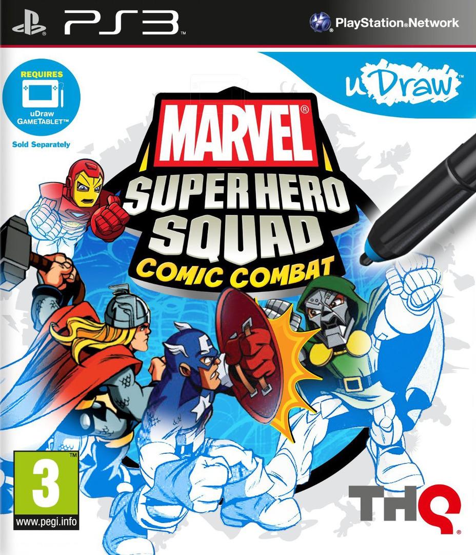 Marvel Super Hero Squad:Comic Combat PS3 coverHQ (BLES01379)