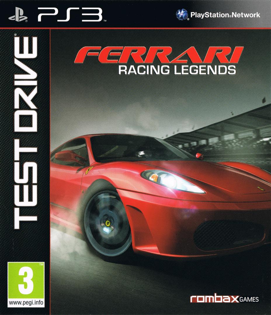 Test Drive: Ferrari Racing Legends PS3 coverHQ (BLES01414)