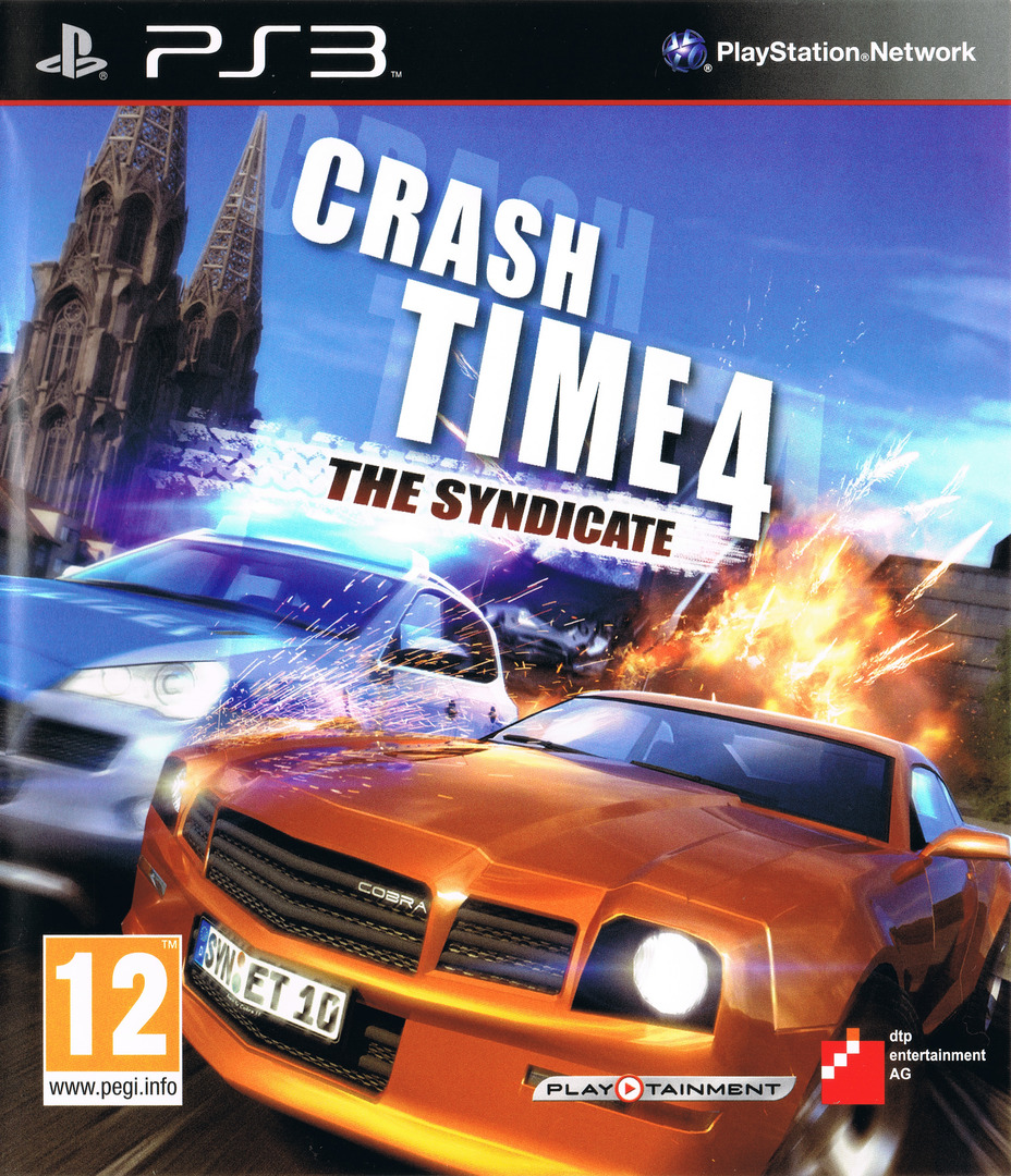 Crash Time 4: The Syndicate PS3 coverHQ (BLES01427)