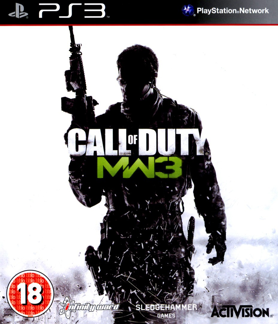 Call of Duty: Modern Warfare 3 PS3 coverHQ (BLES01432)