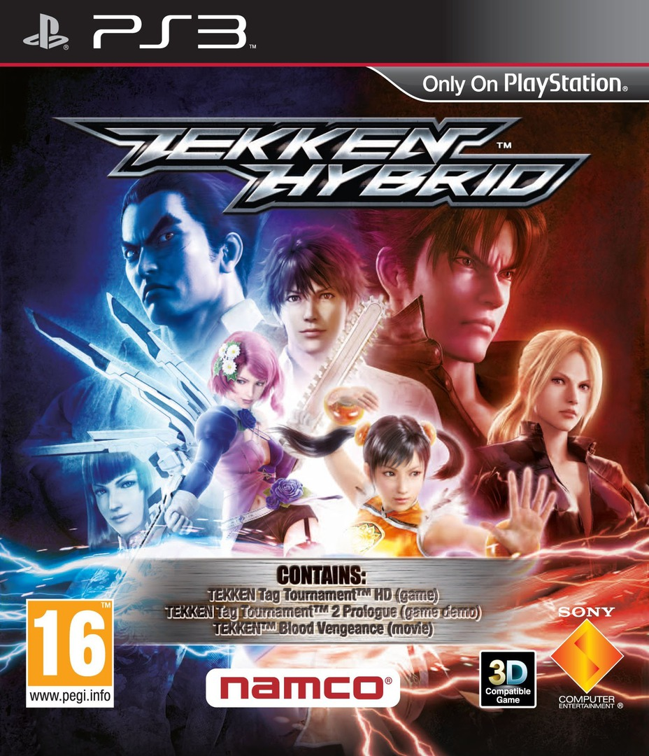 Tekken Hybrid PS3 coverHQ (BLES01454)