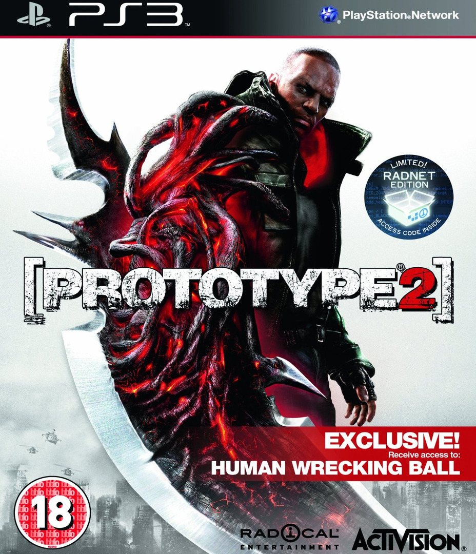 Prototype 2 PS3 coverHQ (BLES01533)