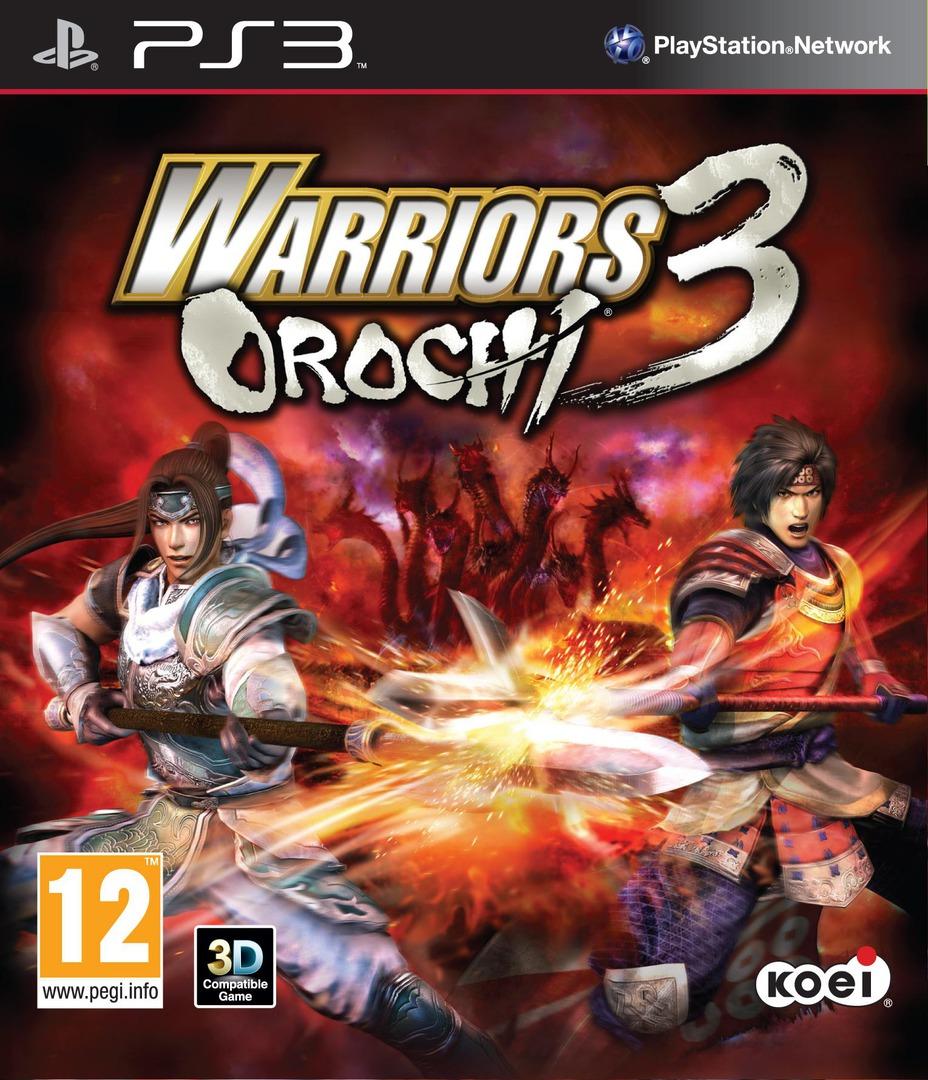 Warriors Orochi 3 PS3 coverHQ (BLES01588)
