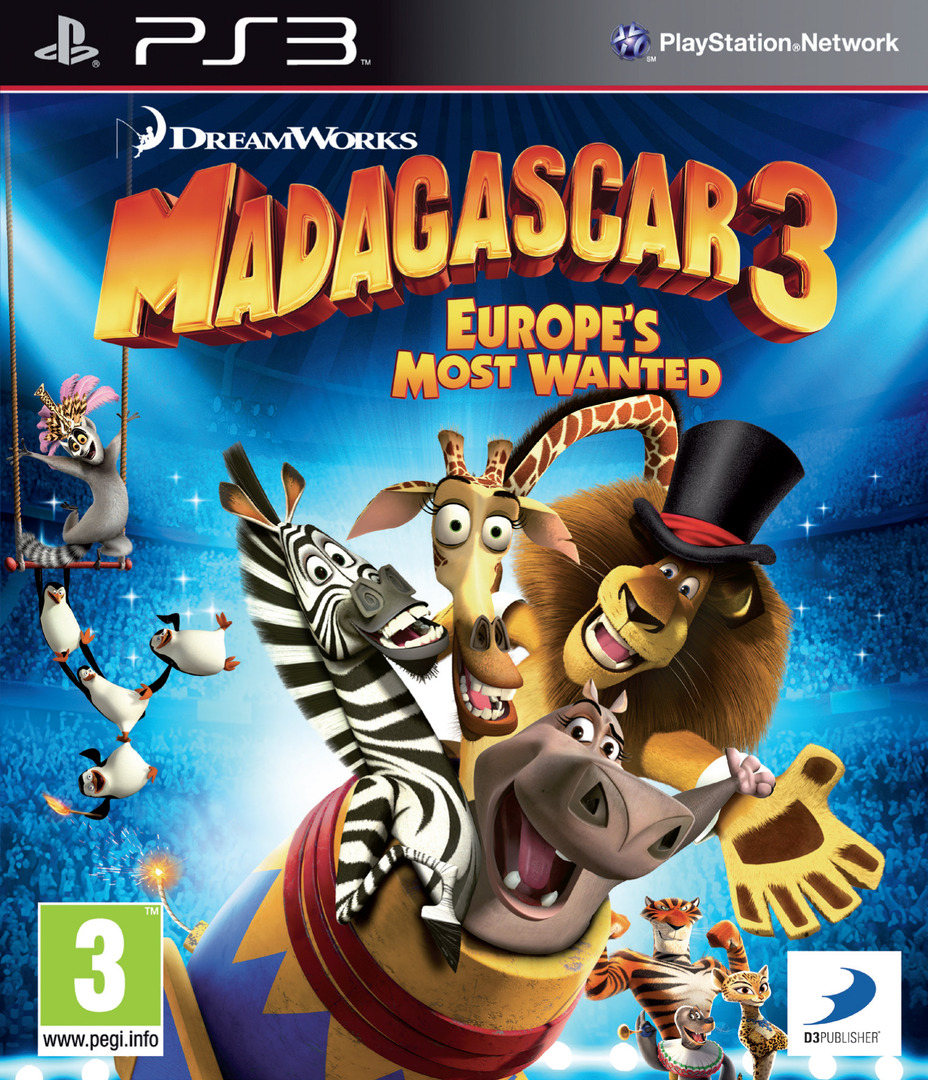 Madagascar 3: Europe's Most Wanted PS3 coverHQ (BLES01624)