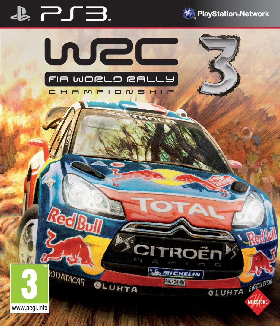 WRC 3: FIA World Rally Championship PS3 coverHQ (BLES01721)