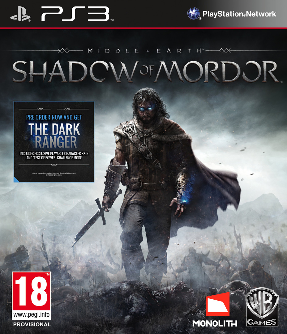 Middle-earth: Shadow of Mordor PS3 coverHQ (BLES01745)