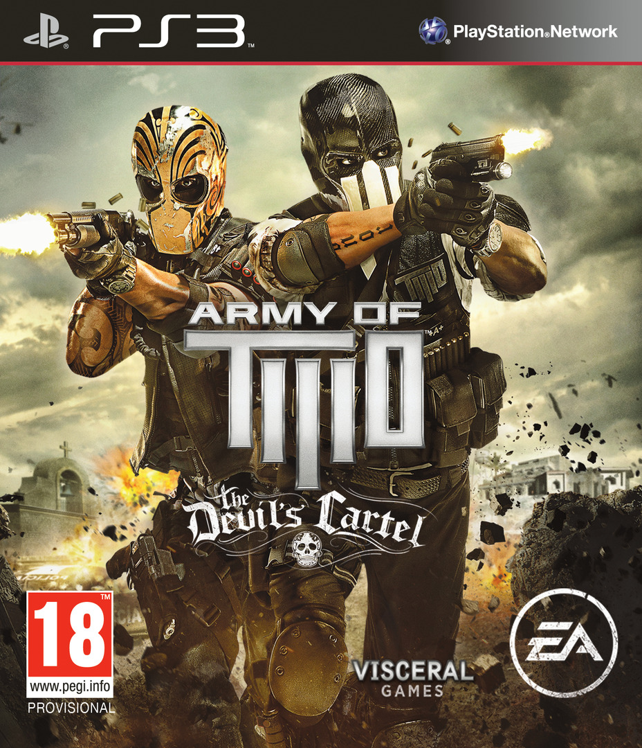 Army of Two: The Devil's Cartel PS3 coverHQ (BLES01763)