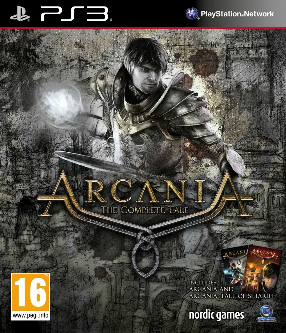 Arcania: The Complete Tale PS3 coverHQ (BLES01783)