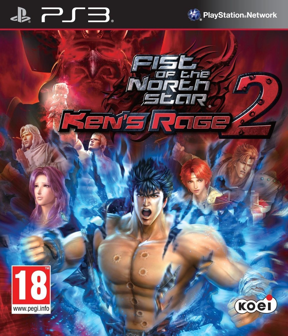 Fist of the North Star: Ken's Rage 2 PS3 coverHQ (BLES01801)