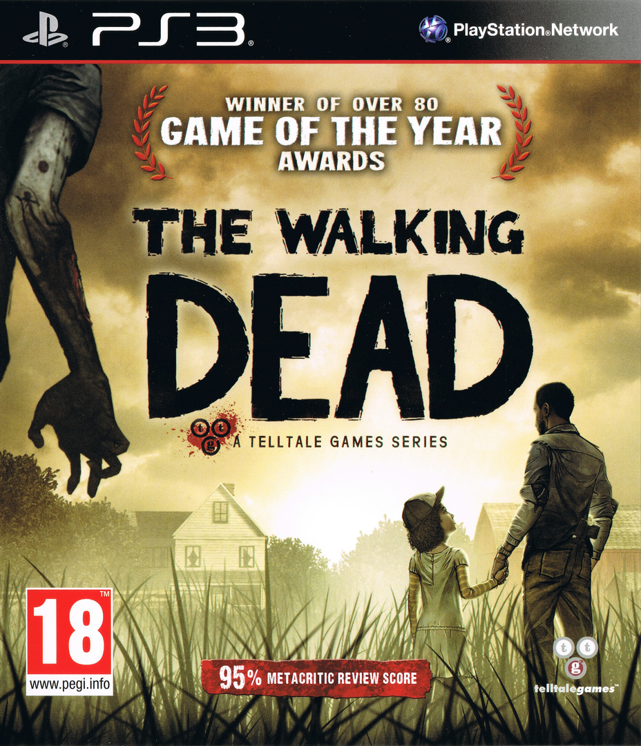 The Walking Dead: A Telltale Games Series PS3 coverHQ (BLES01833)