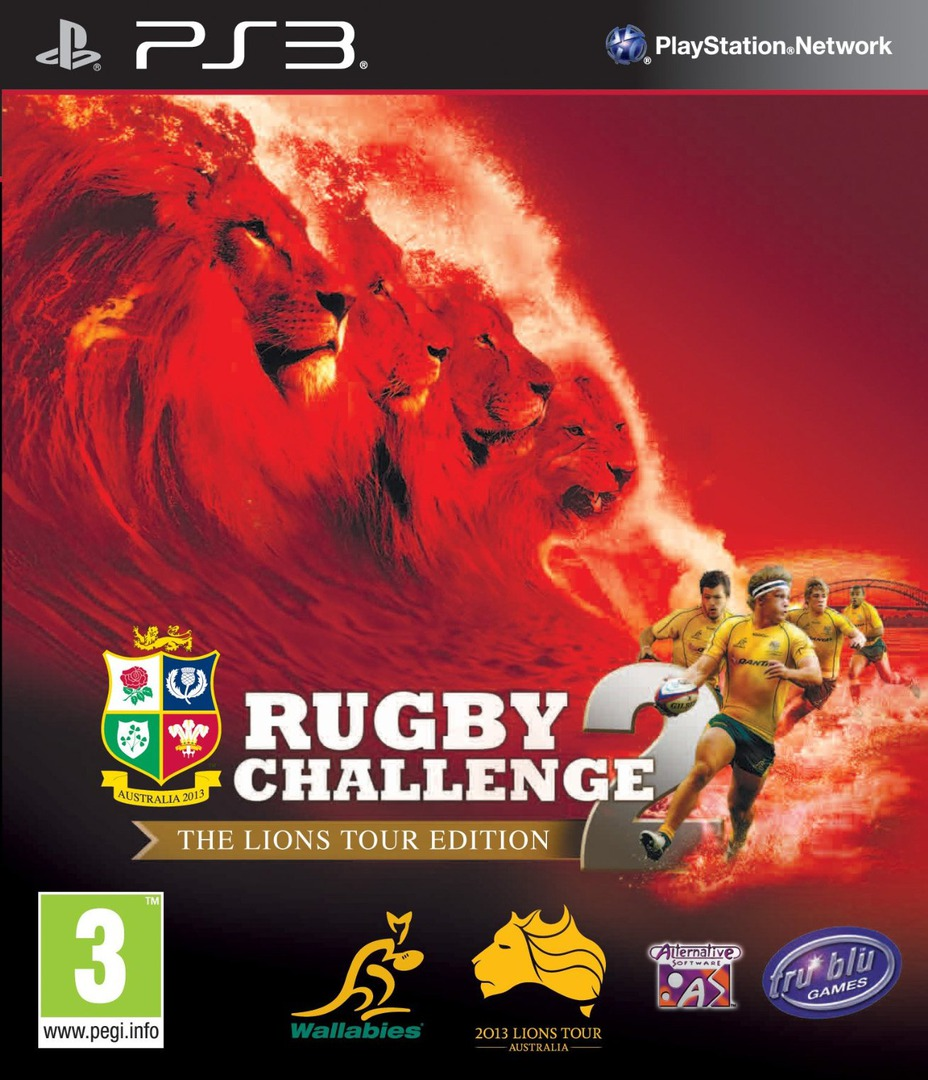 Rugby Challenge 2: The Lions Tour Edition PS3 coverHQ (BLES01841)