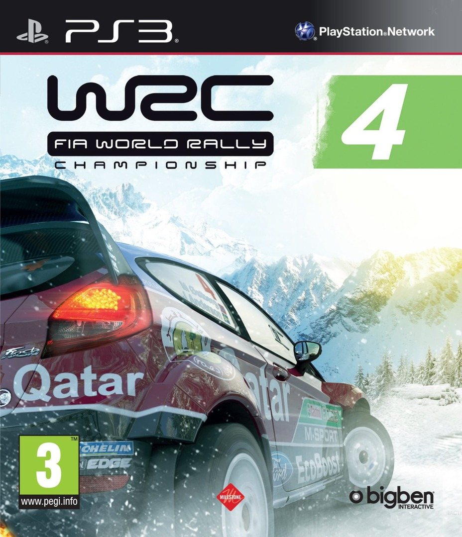 WRC 4: FIA World Rally Championship PS3 coverHQ (BLES01874)