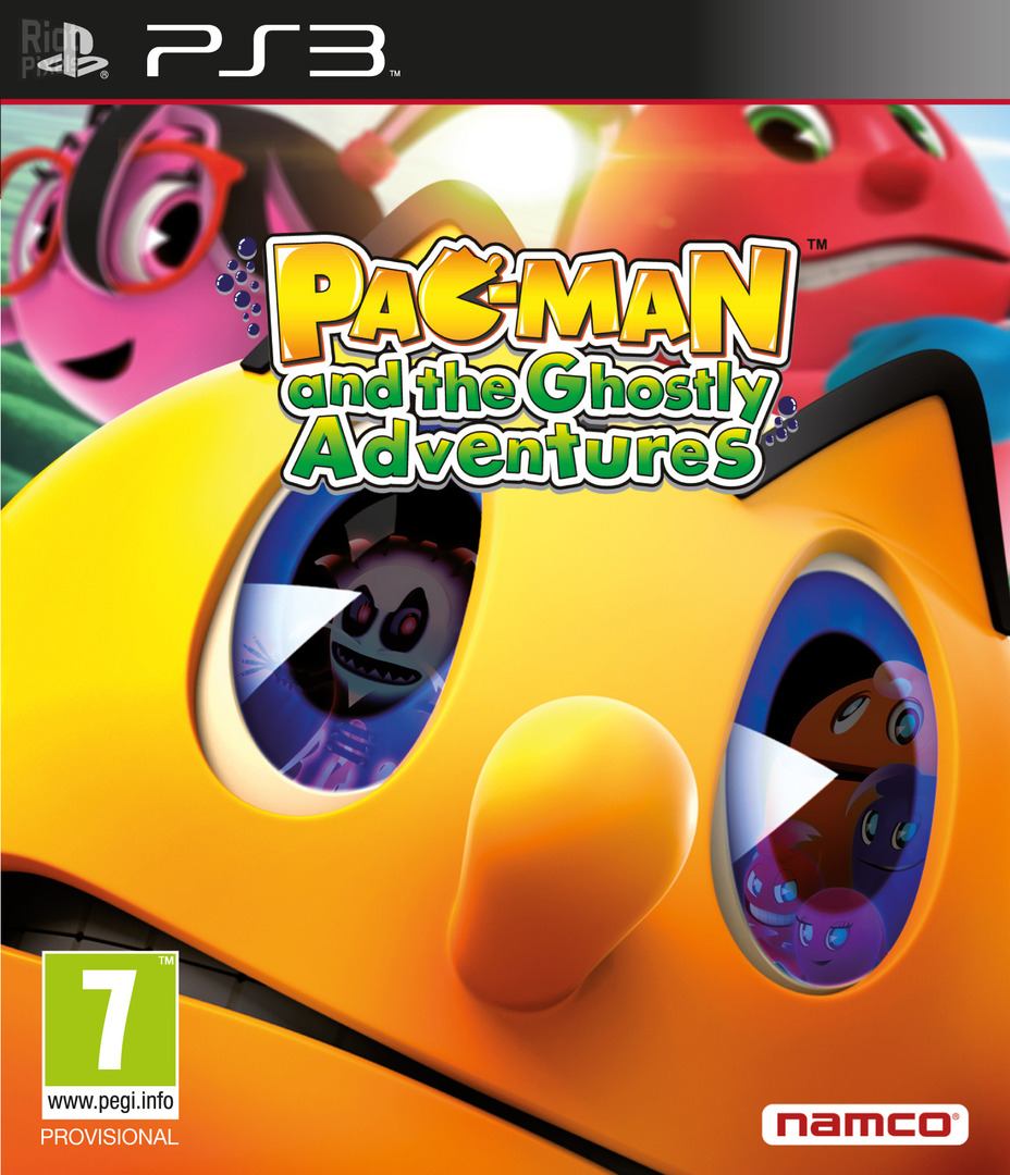 Pac-Man and the Ghostly Adventures PS3 coverHQ (BLES01901)