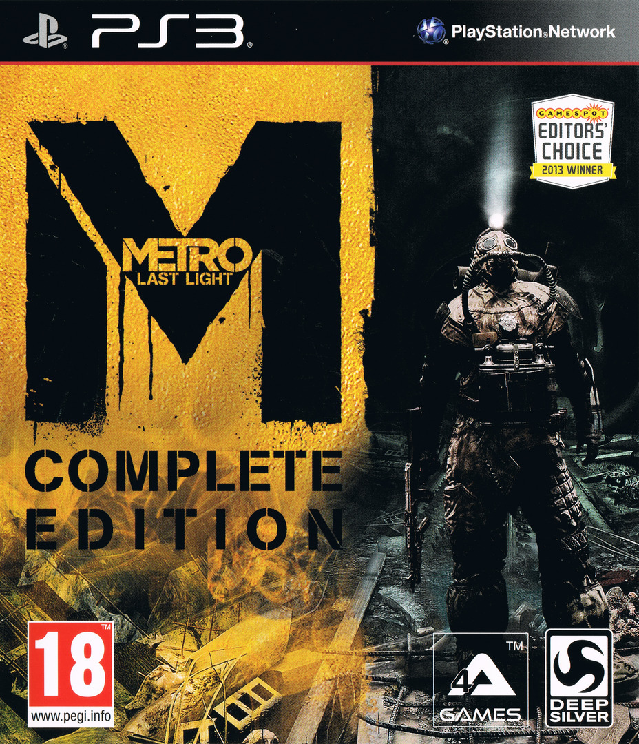 Metro: Last Light - Complete Edition PS3 coverHQ (BLES01999)