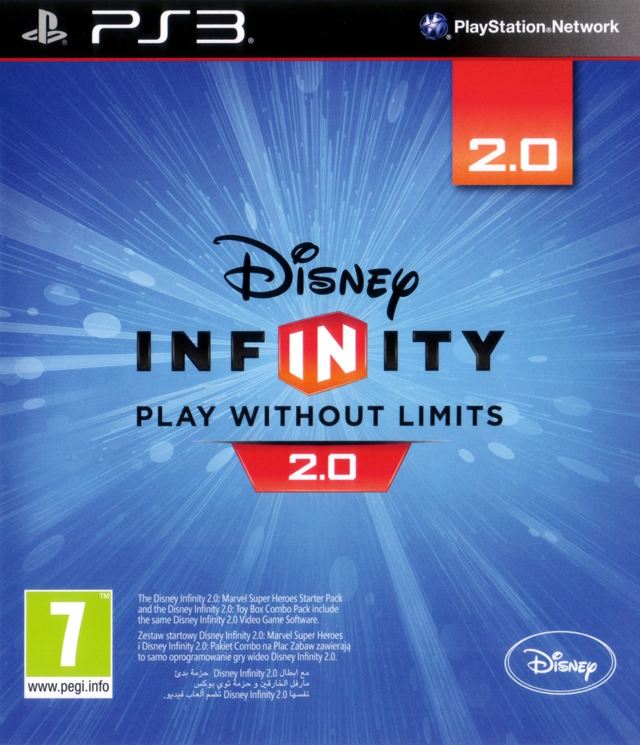 Disney Infinity: Marvel Super Heroes - 2.0 Edition PS3 coverHQ (BLES02066)