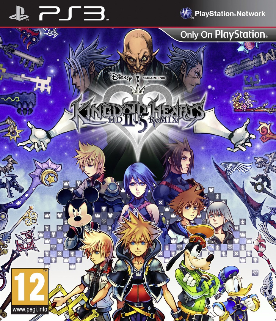 Kingdom Hearts HD 2.5 ReMIX PS3 coverHQ (BLES02070)