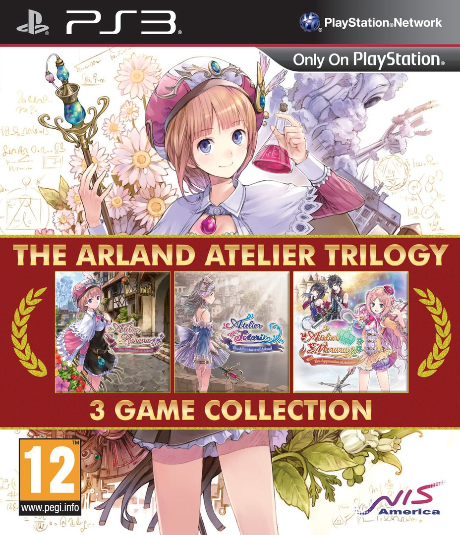 The Arland Atelier Trilogy PS3 coverHQ (BLES02138)