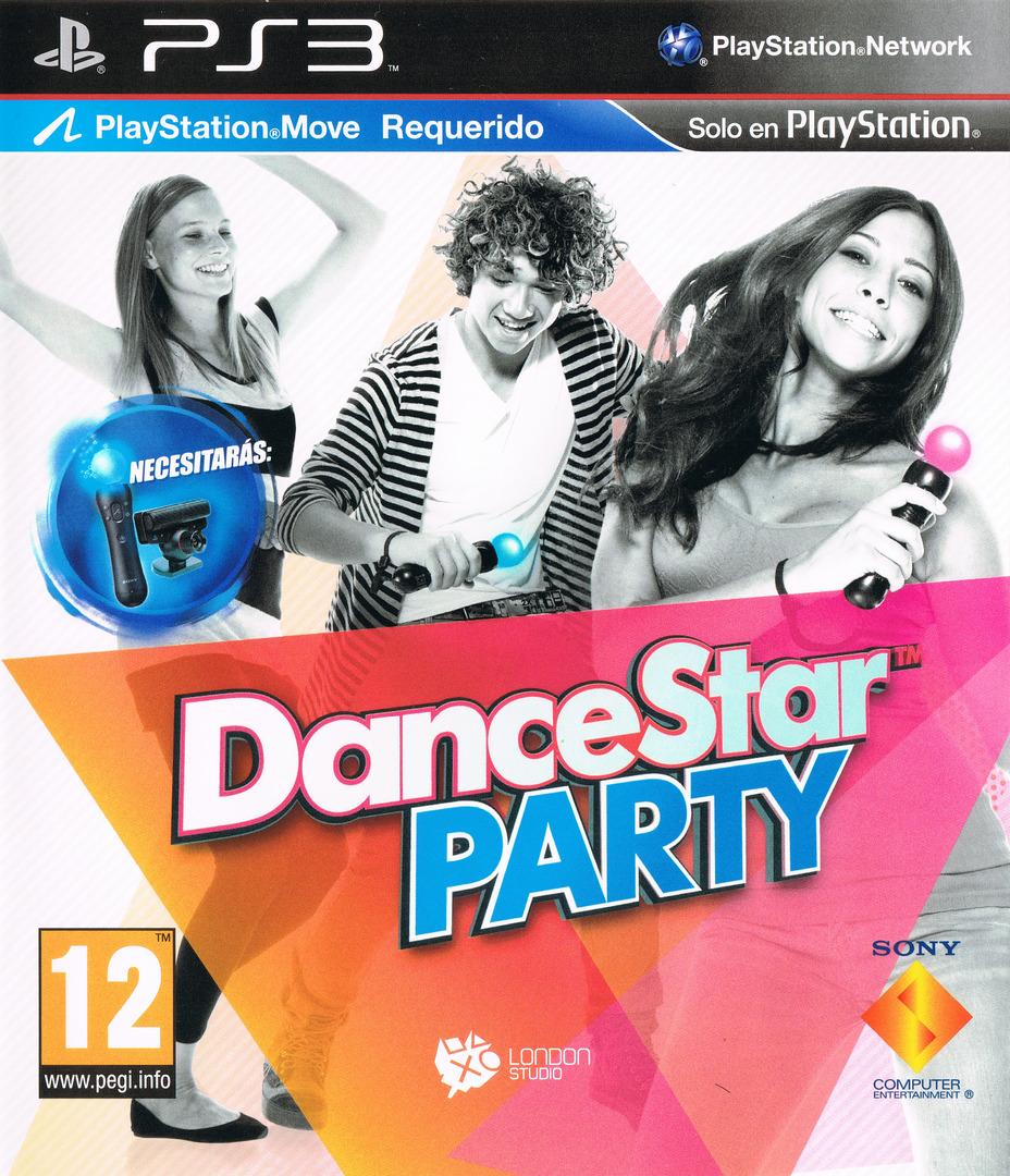 DanceStar Party PS3 coverHQ (BCES01361)