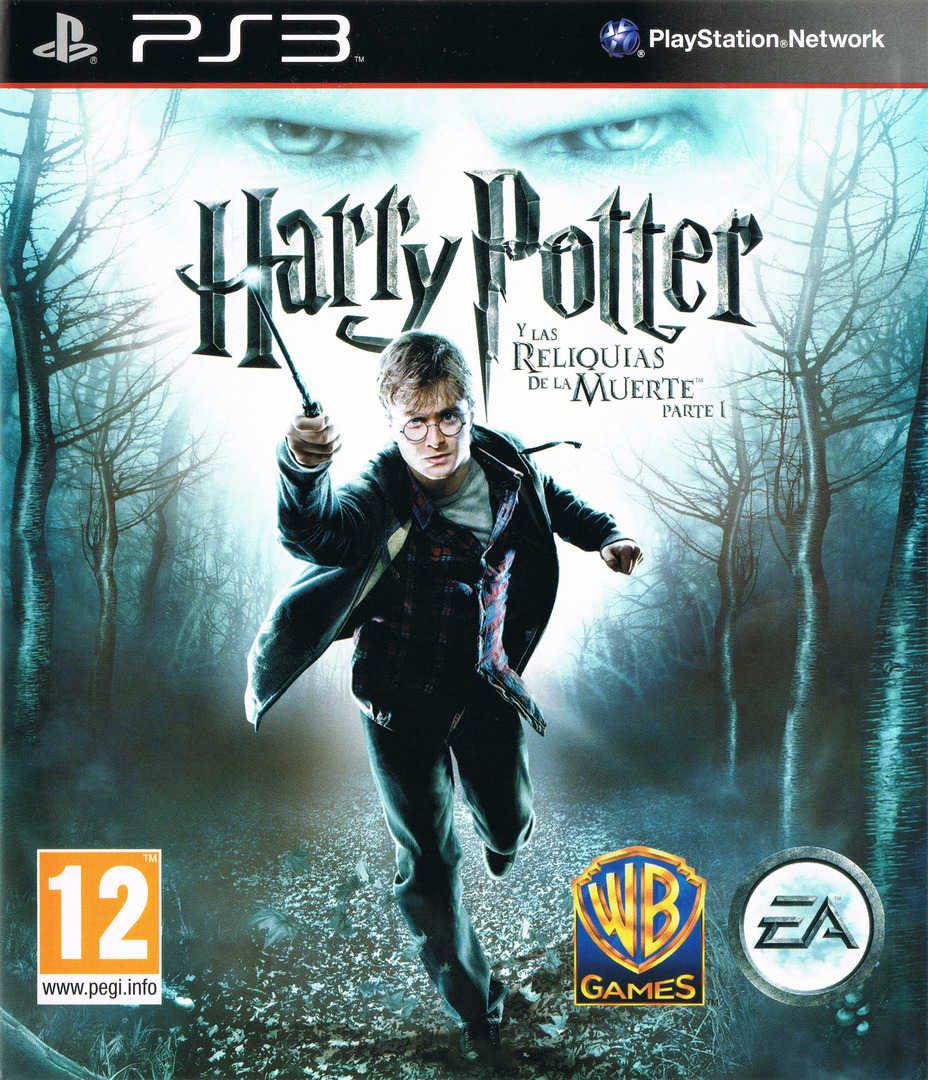 Harry Potter y Las Reliquias de la Muerte: Parte 1 PS3 coverHQ (BLES00931)
