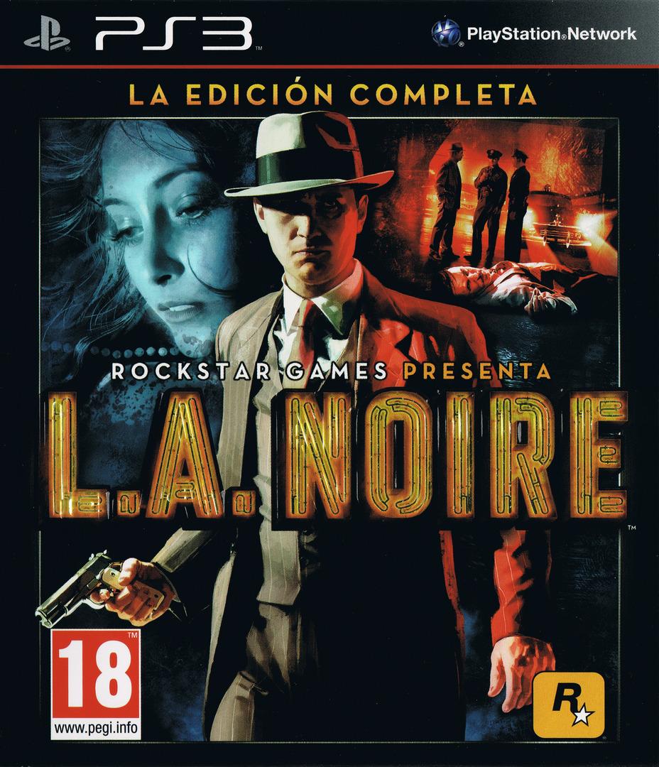 L.A. Noire: La Edición Completa PS3 coverHQ (BLES01488)