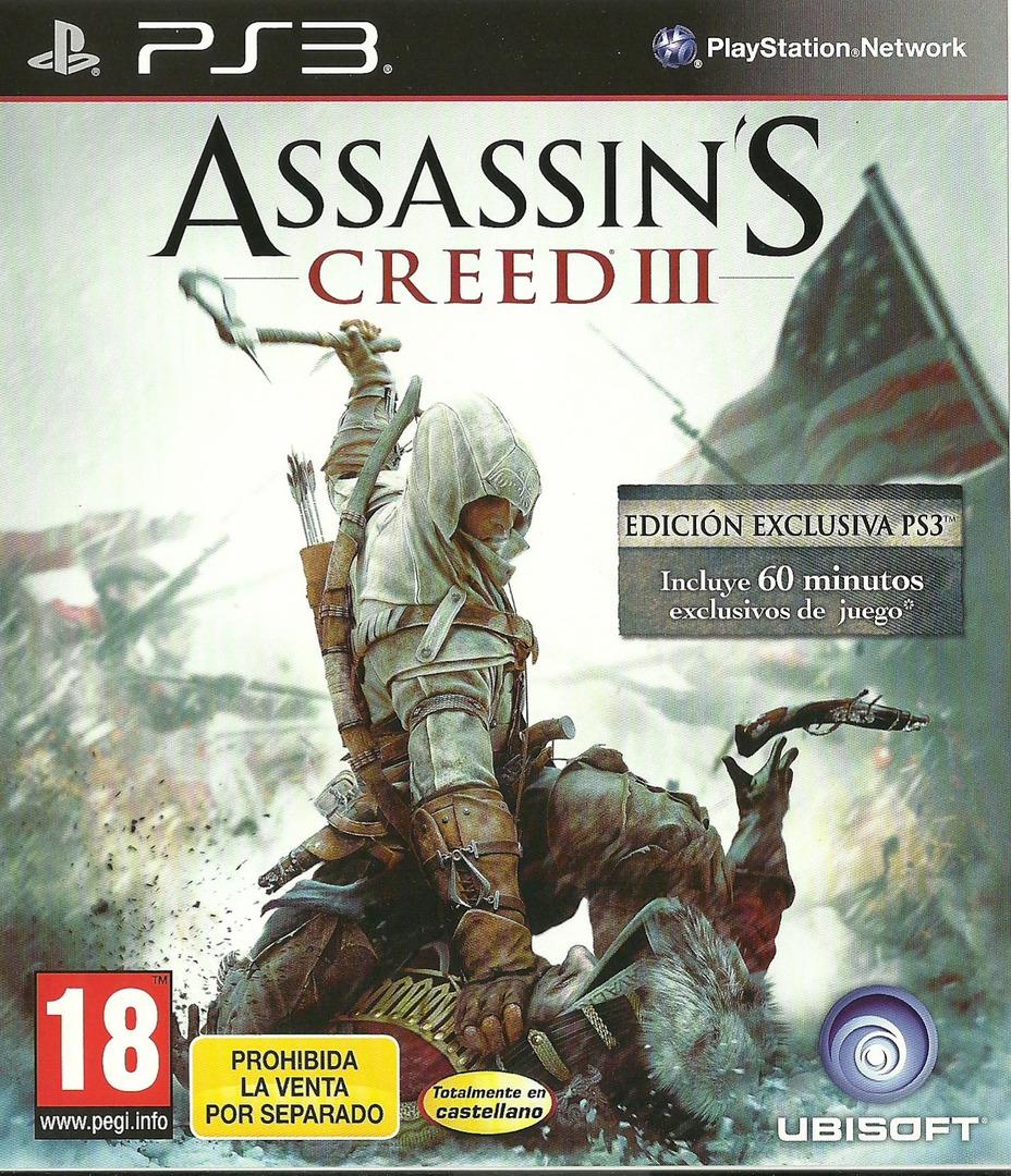 Ps3]assassins. Creed. Iii. Special. Edition + fix 3. 55[eur] скачать.